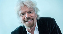 Sir Richard Branson. Photo: Bloomberg