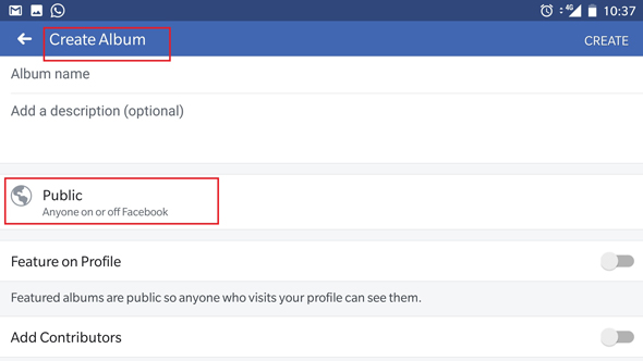 פייסבוק תמונות צילומים אלבומים 2, צילום|: צילום מסך