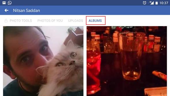 פייסבוק תמונות צילומים אלבומים 5, צילום|: צילום מסך