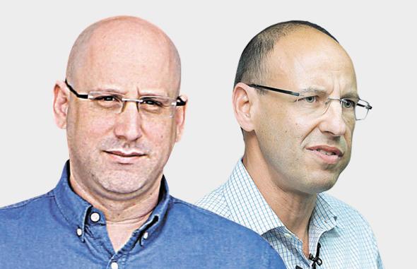 מימין גיל שרון ו ניר שטרן, צילומים: אלכס קולומויסקי, אוראל כהן