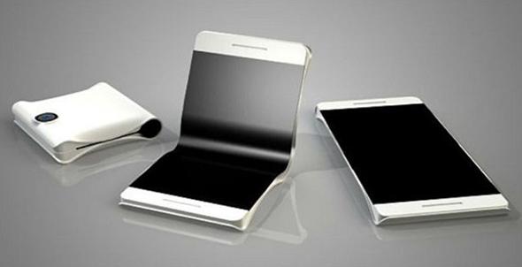 עיצוב קונספט לטלפון מתקפל של וואווי