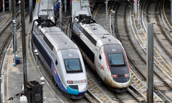 רכבות SNCF בצרפת, צילום: רויטרס