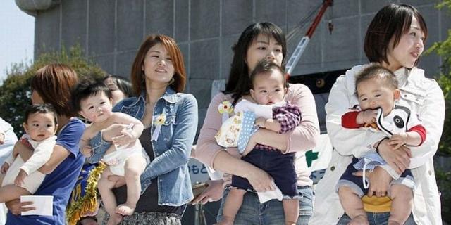 אמהות יפניות, צילום: ilishi.com