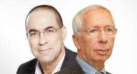 מימין: עדו קוק וצבי לובצקי, צילום: אוראל כהן, אילן בשור