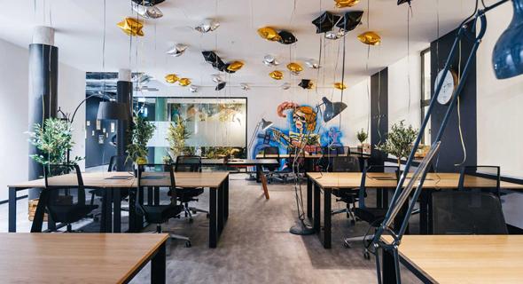 חלל עבודה של rent24 ב גרמניה, צילום: אתר החברה rent24