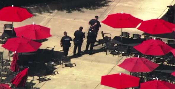 יריות ב מטה יוטיוב קליפורניה, צילום מסך: CNN