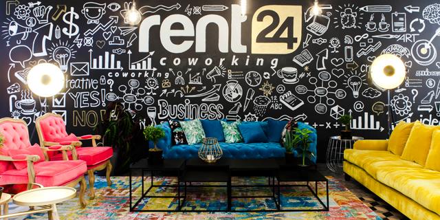ענקית חללי העבודה rent24 מגיעה לארץ
