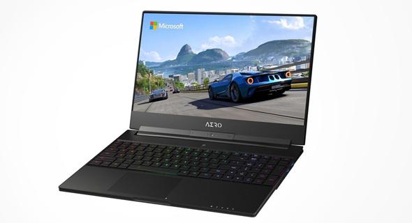 מחשב ה-Aero 15x של גיגבייט