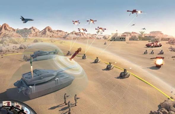 שימוש ברובוטים בשדה הקרב עשוי להאיץ את התדרדרות המצב למלחמה, צילום: BAE