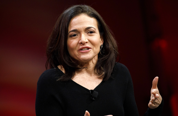 Sheryl Sandberg. Photo: Bloomberg