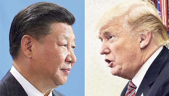 טראמפ וג'ינפינג, צילומים: בלומברג, רויטרס
