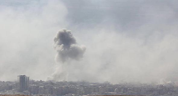 הפצצה בסוריה