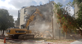 """תמ""""א פינוי בינוי רמת גן בניין דירות, צילום: שי סלינס"""