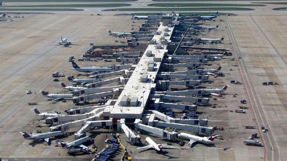 נמל התעופה של אטלנטה, הצפוף ביותר בעולם