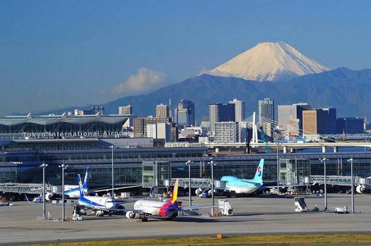 נמל תעופה האנדה בטוקיו, יפן