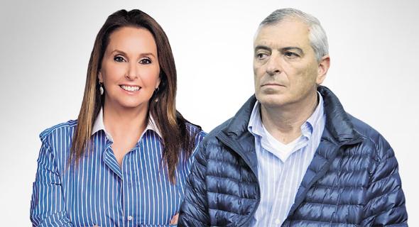 שרי אריסון ו עופר קוטלר, צילום: צביקה טישלר