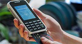 וריפון מכשיר לתשלום ב כרטיס אשראי, צילום: verifone