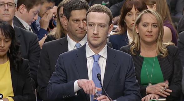 מארק צוקרברג בסנאט