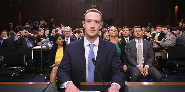 צוקרברג מעיד בסנאט על פרשת קיימברידג