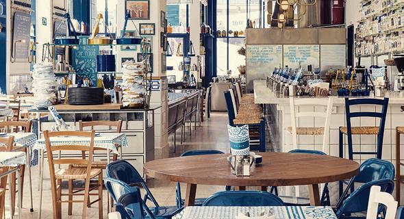 """הסניף החדש של גרקו בהרצליה. """"אחד החלומות שלי זה להקים מסעדה בג'סר א־זרקא, בשיתוף העובדים שלנו משם"""""""