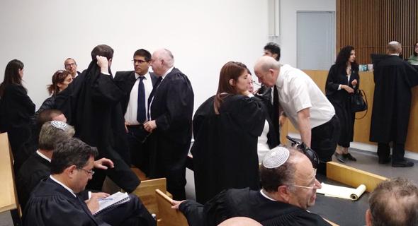 הדיון הקודם בבית המשפט
