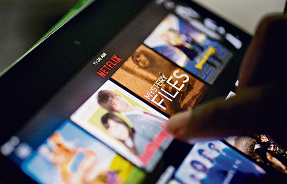 Netflix. Photo: Bloomberg