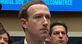 """מארק צוקרברג מייסד ומנכ""""ל פייסבוק עדות בבית הנבחרים, צילום: youtube"""
