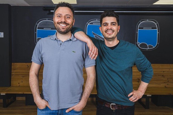 TravelPerk co-founders Avi Meir and Javier Suarez. Photo: PR