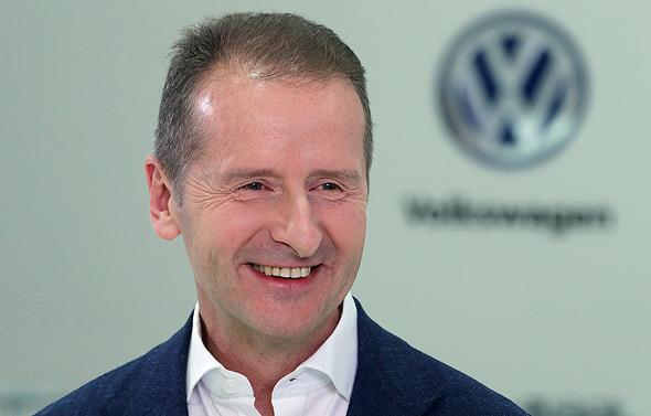 Volkswagen AG CEO Herbert Diess. Photo: Bloomberg
