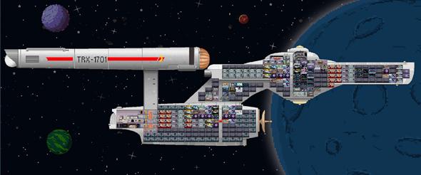 מסע בין כוכבים ב-8 ביט