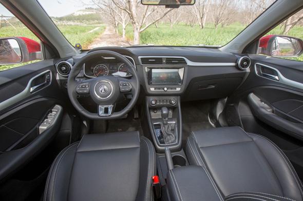הרכב של MG מבפנים, צילום: יצרן