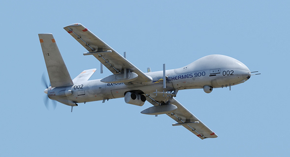 The Hermes 900 UAS. Photo: Elbit Systems Ltd.