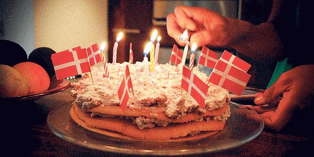 """מזל טוב ממדינה מאושרת: שולחן יום הולדת מדנמרק יככב ב""""צבע טרי"""""""