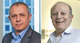 עורכי הדין אמנון לורך וברק טל, צילום: אוראל כהן, עמית שעל
