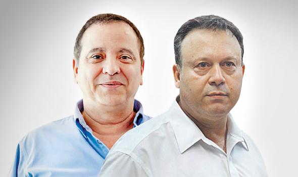 מימין חיים צוף ו קובי מימון , צילום: אוראל כהן
