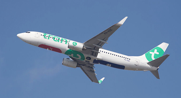 Transavia airplane. Photo: Wikipedia/Russell Lee