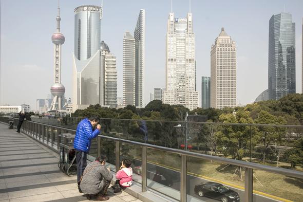 הרובע הפיננסי בשנגחאי