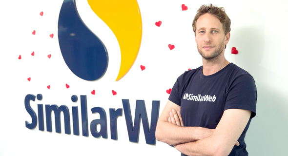 SimilarWeb CEO and founder Or Offer. Photo: Orel Cohen