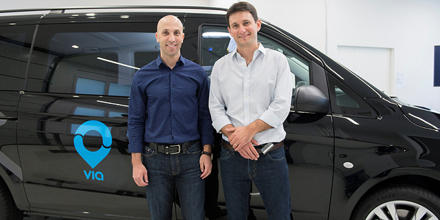 Via co-founders Daniel Ramot (left) and Oren Shoval. Photo: PR