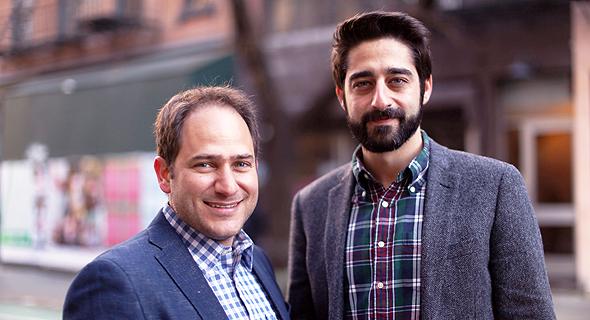 מימין: זוהר דיין ויותם כהן, מייסדי Wibbitz
