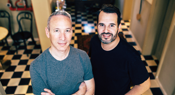 Lemonade co-founders Shai Wininger (left) and Daniel Schreiber. Photo: Ben Kelmer
