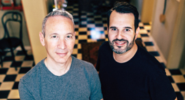 Lemonade co-founders Shai Wininger and Daniel Schreiber (right). Photo: Ben Kelmer