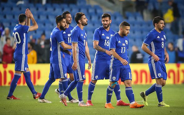 Israel's national team. Photo: Oz Mualem