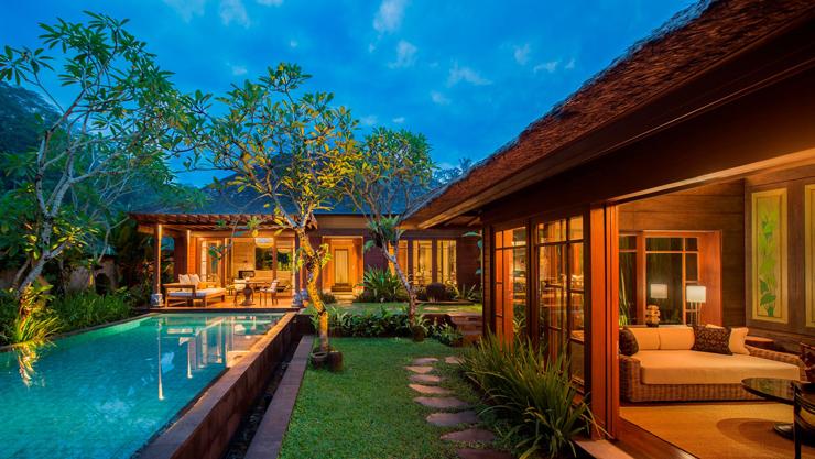 במקום השני - מלון מנדפה בבאלי, אינדונזיה
