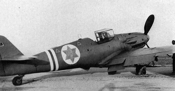 מטוס S199 של חיל האוויר הישראלי