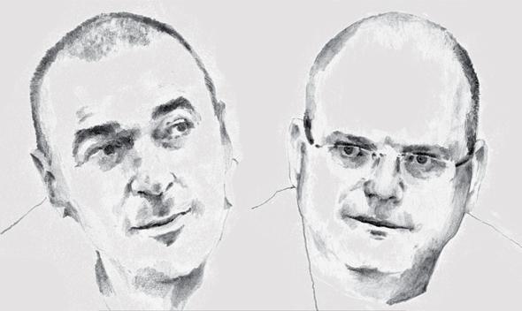 מייסדי צ'ק פוינט גיל שויד ומריוס נכט