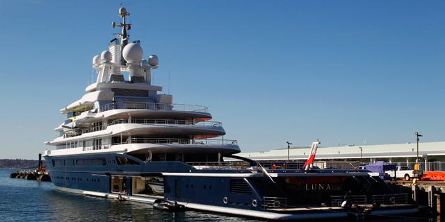יאכטה שמוערכת ב-300 מיליון פאונד, צילום: ויקימדיה
