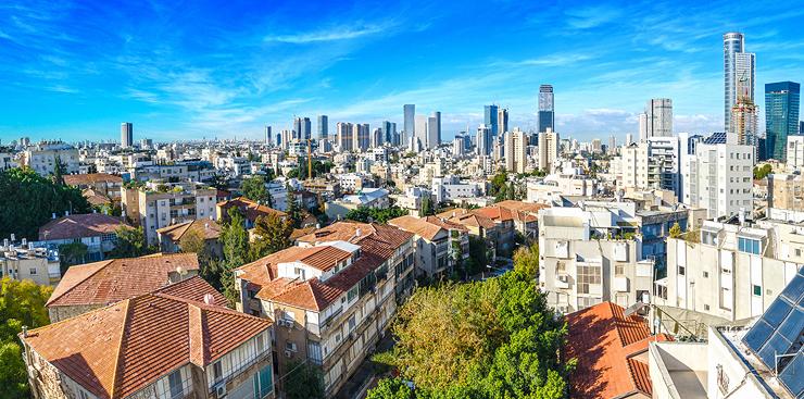 תל אביב. ישראל במקום ה-13, צילום: שאטרסטוק