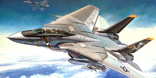 רב עוצמה ופוטוגני. F14