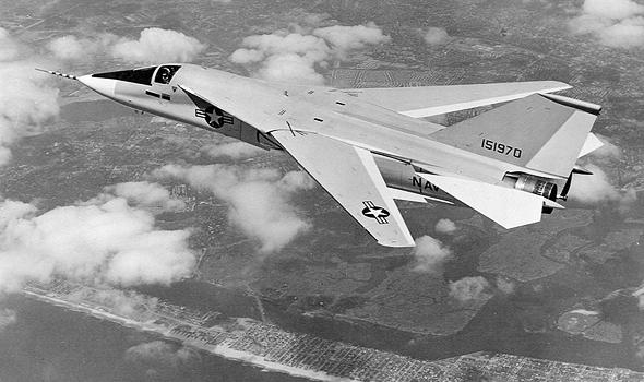 מטוס ה-F111B, שתוכנן במקור כמטוס קרב עבור חיל הים